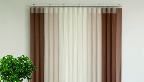 Vertical Tulle Blinds